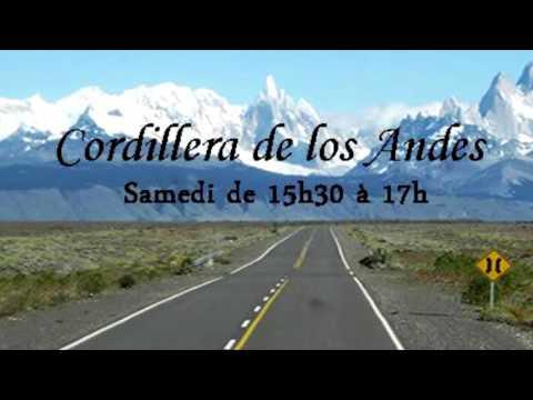 CORDILLERA DE LOS ANDES-RADIO TSF98 NORMANDIE FRANCE