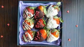 кЛУБНИКА в шоколаде  ИДЕАЛЬНЫЙ ПОДАРОК Strawberry in chocolate