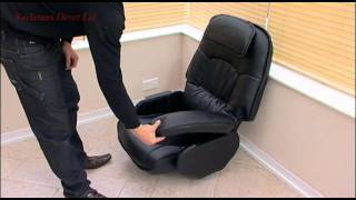 Assembly Instructions For The Swivel Recliner Armchair