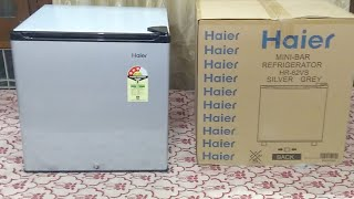 Haier 54 Liter Mini Refrigerator (HR-64VS) : Unboxing  and Feature (Hindi) (Live Video)
