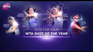 2016 WTA Shot of the Year | Final Group