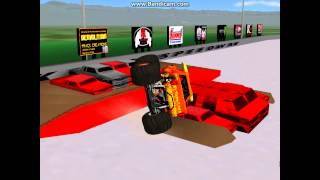 Mankato Speedway 14 truck freestyle breakable (sim monsters)