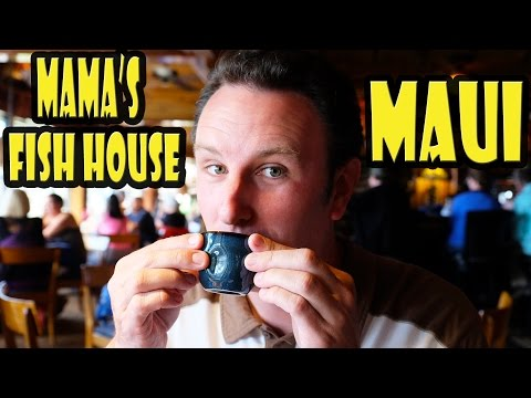 Best Restaurant In Hawaii - Mama's Fish House Maui
