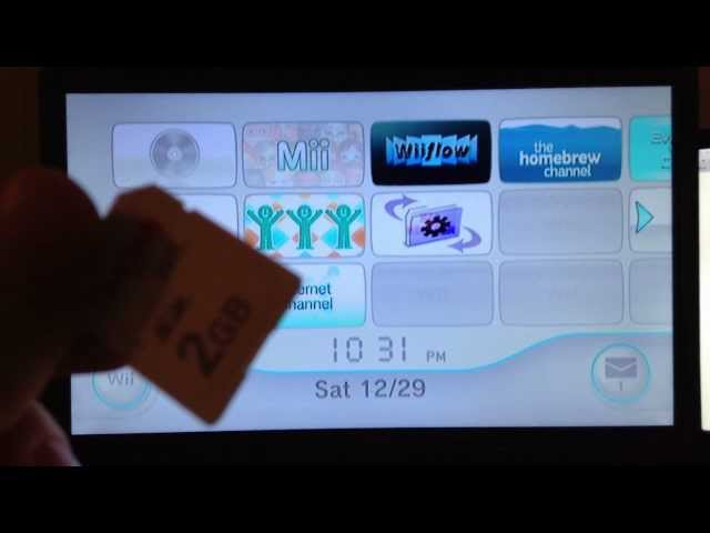 How to hack/get Homebrew Channel for any 4 3 Wii Easy 2012
