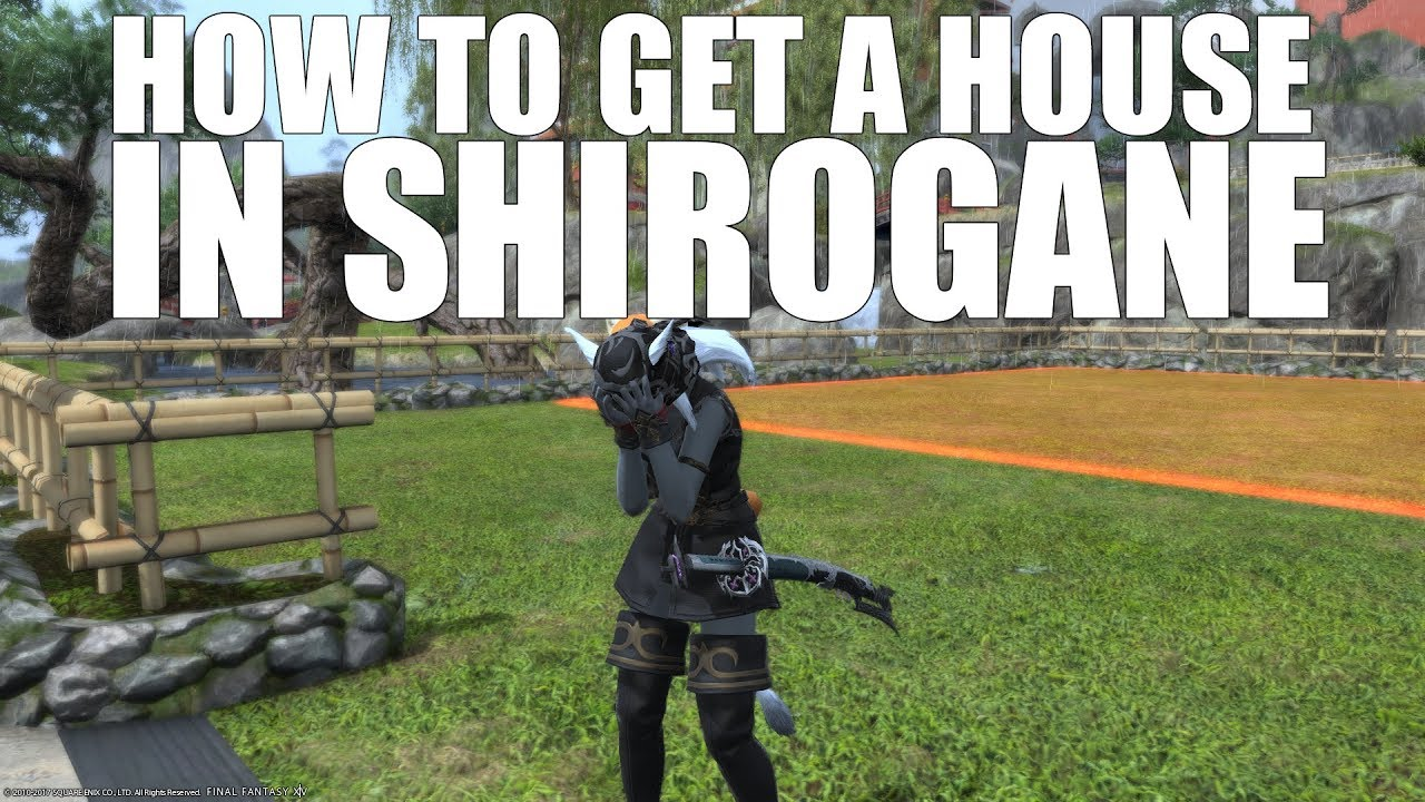 How to Get a House in Shirogane [FFXIV Funny]