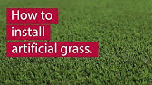 How To Install Synthetic Turf You