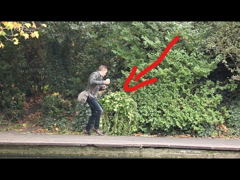 Bushman in Ireland: Prank people