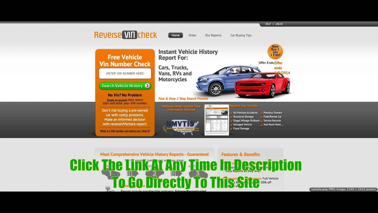Best Vin Check For Multiple Vehicle History Reports Review - YouTube