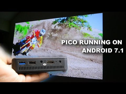 Best Amazon DLP Projector Running Android 7.1 - Yuancin D13 Pico