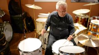 Steve Maxwell Vintage Drums - (Ludwig Legacy Mahogany Drum Set - 7/3/15)