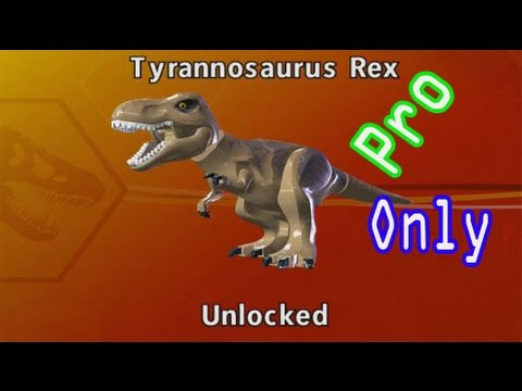 LEGO Jurassic World-How To Unlock [Tyrannosaurus Rex Dinosaur] Character and Find the Location