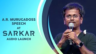 A R Murugadoss Speech | Sarkar Audio Launch