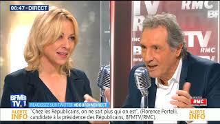 BOURDIN DIRECT du 16/11/2017 Florence PORTELLI Candidate à la présidence des LR