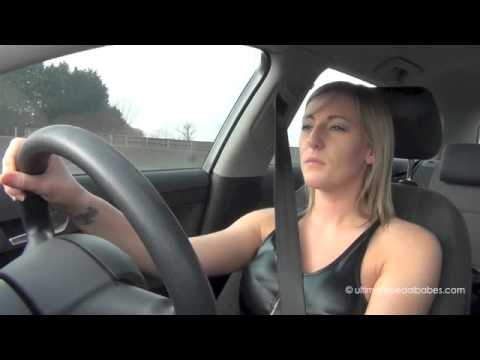 Driving in pantyhose