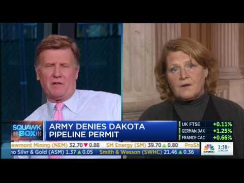 Sen. Heitkamp: Democrats Need To Live In The Real World When It Comes To Energy Policy
