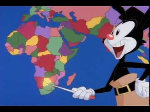 Animaniacs -- S01E07 -- The Nations of the World