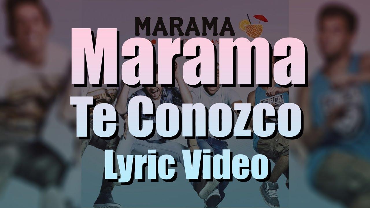 Marama - Te Conozco (Video Oficial)