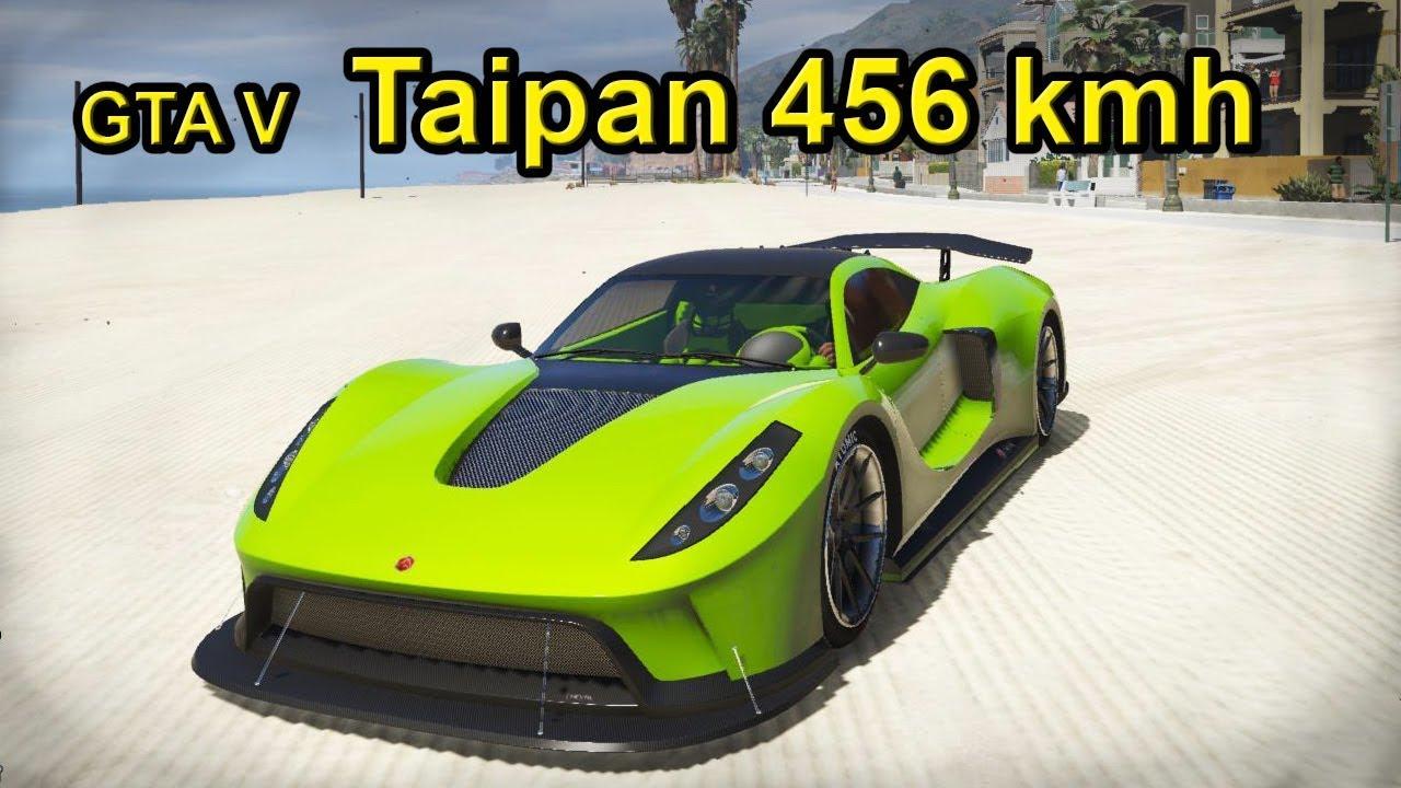 GTA V: Driving 456 kmh (Realistic Driving 2 5 Mod Preview) Super Sport  Series DLC