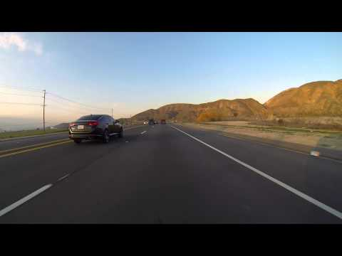 GoPro: The Beautiful Mountain Drive Between Beaumont and Hemet California