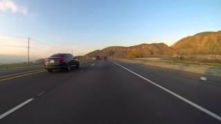GoPro: The Beautiful Mountain Drive Between Beaumont and Hemet California