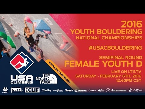 Female Youth D • Semifinals • Saturday February 6th 2016 • LIVE 12:40PM CST