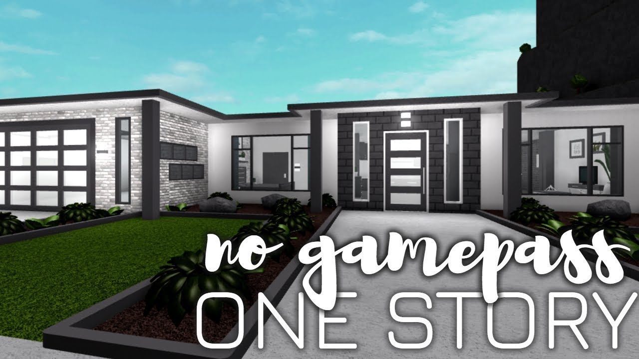 24++ House ideas for bloxburg 1 story information