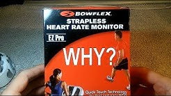 Bowflex EZ Pro Strapless Heart Rate Monitor. Review.
