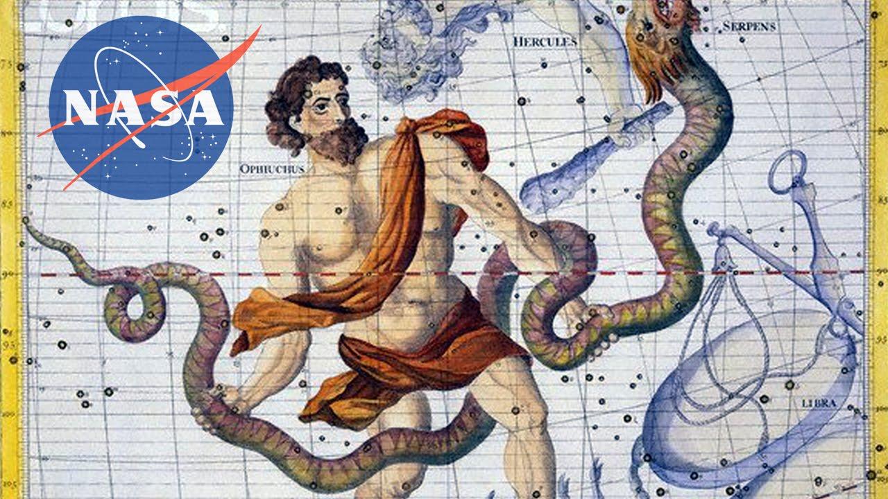 NASA Discovers A New Zodiac Sign - YouTube