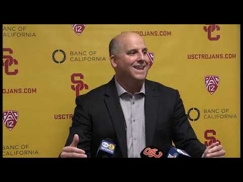 USC Football 2019 Signing Day Presser 2/6/19