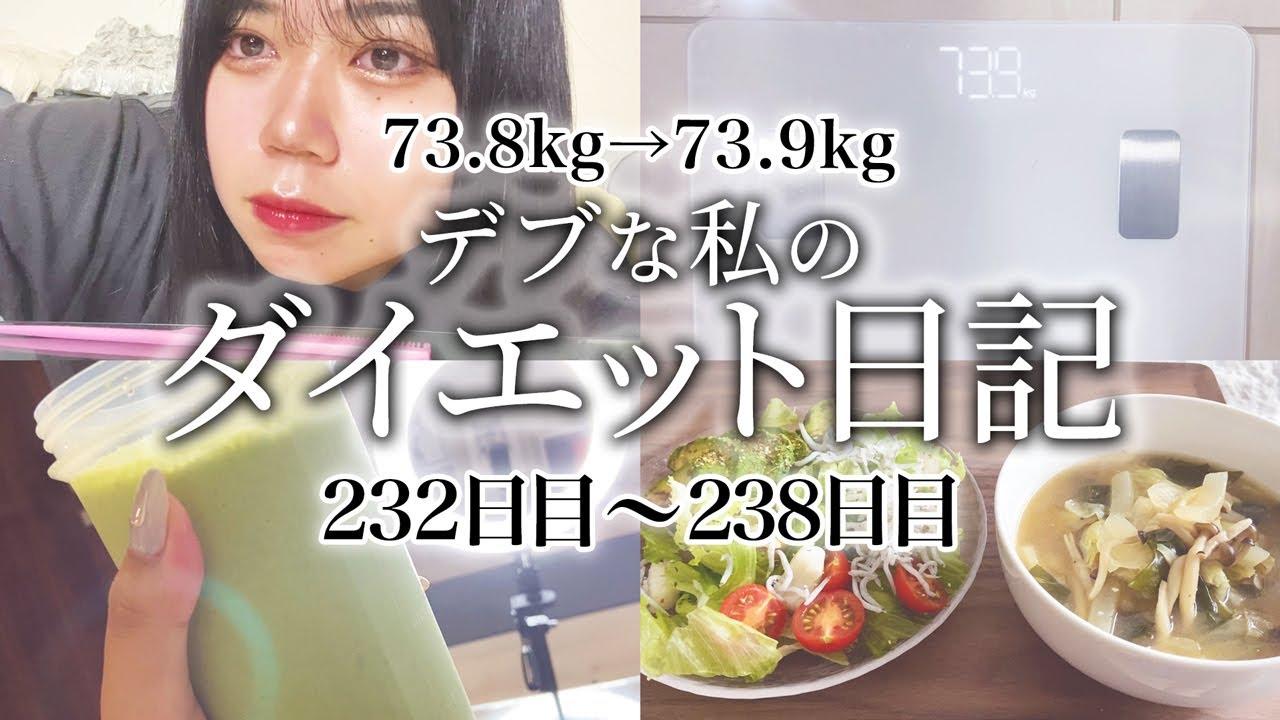 【diet blog】73.8kg→73.9kg 1年後にモデル体型を目指すデブの食事内容、運動メニューを全て見せます!