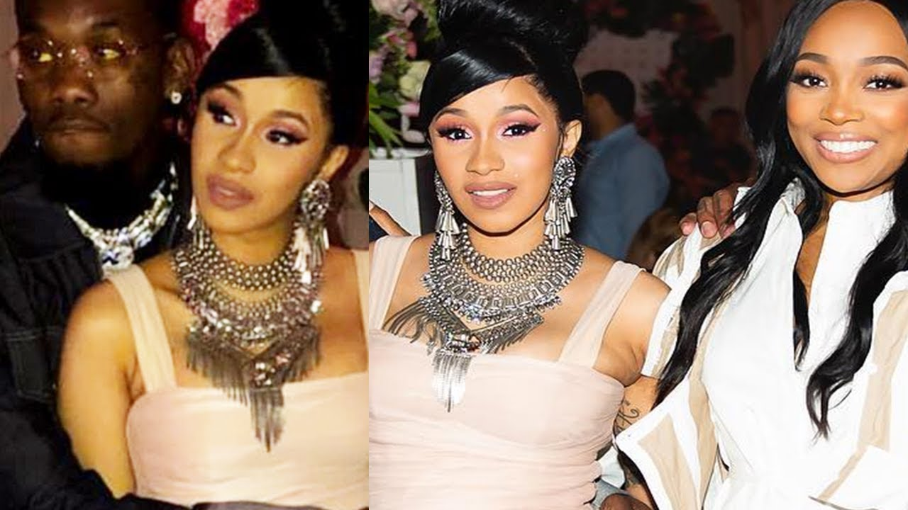 Full Footage Of Cardi S B Baby Shower Celebrity Guests Monica