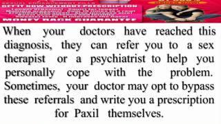Paxil tablet
