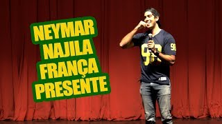 Neymar, Najila, França, Presente - JONATHAN NEMER