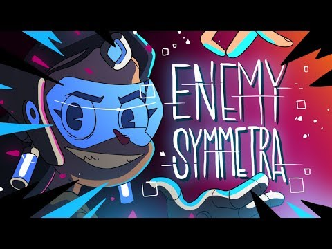 ENEMY SYMMETRA (OVERWATCH ANIMATION)