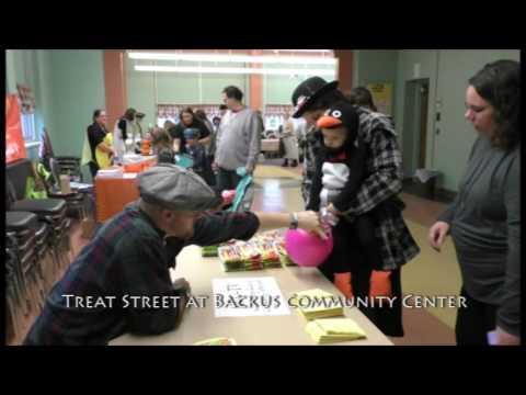 2016 Treat Street at Backus Community Center