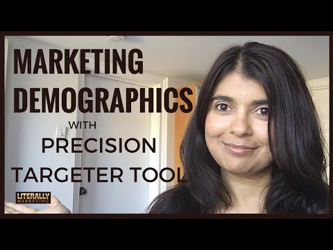 Marketing Demographics with Canada Post Precision Targeter Tool