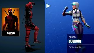 Deadpool 2 en Fortnite! | + Skins de Marvel?