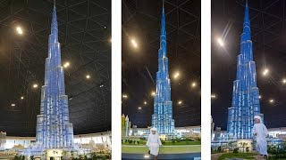 LEGOLAND Dubai Unveils World's Tallest LEGO Building Model As Burj Khalifa Rises In MINILAND