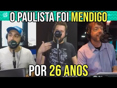 O PAULISTA FOI MENDIGO POR 26 ANOS