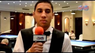اللاعب باسم جمال يفوز على الالماني مارك في بطولة أخبار اليوم
