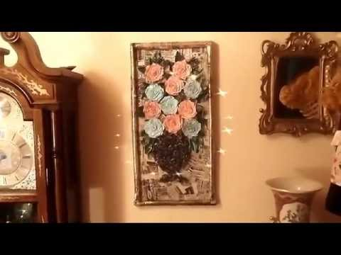 News paper crafts for home decor youtube for Home decorations youtube