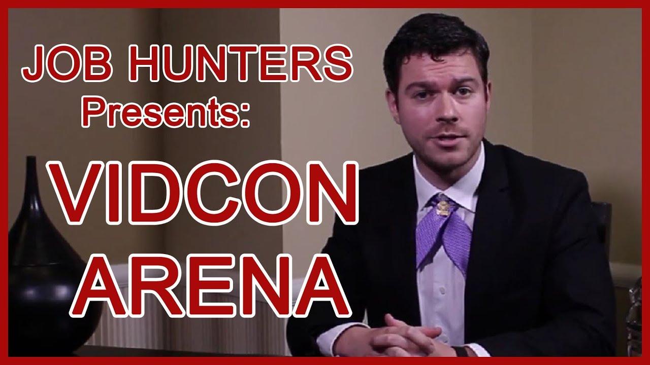job hunters presents vidcon arena job hunters presents vidcon arena