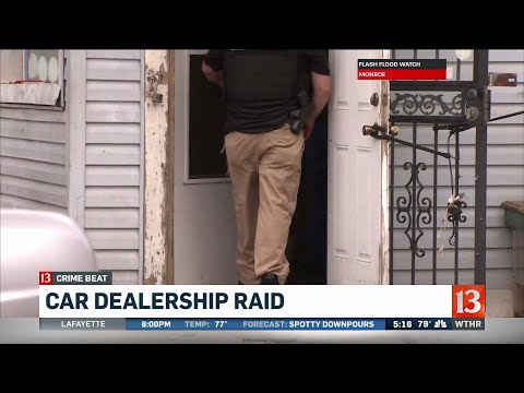 Federal agents search Indianapolis car dealership