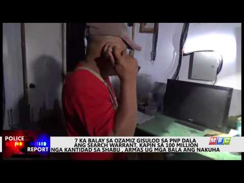 MBC Ozamiz - PNP Ozamiz  confiscates 100 M worth of shabu  PART 3