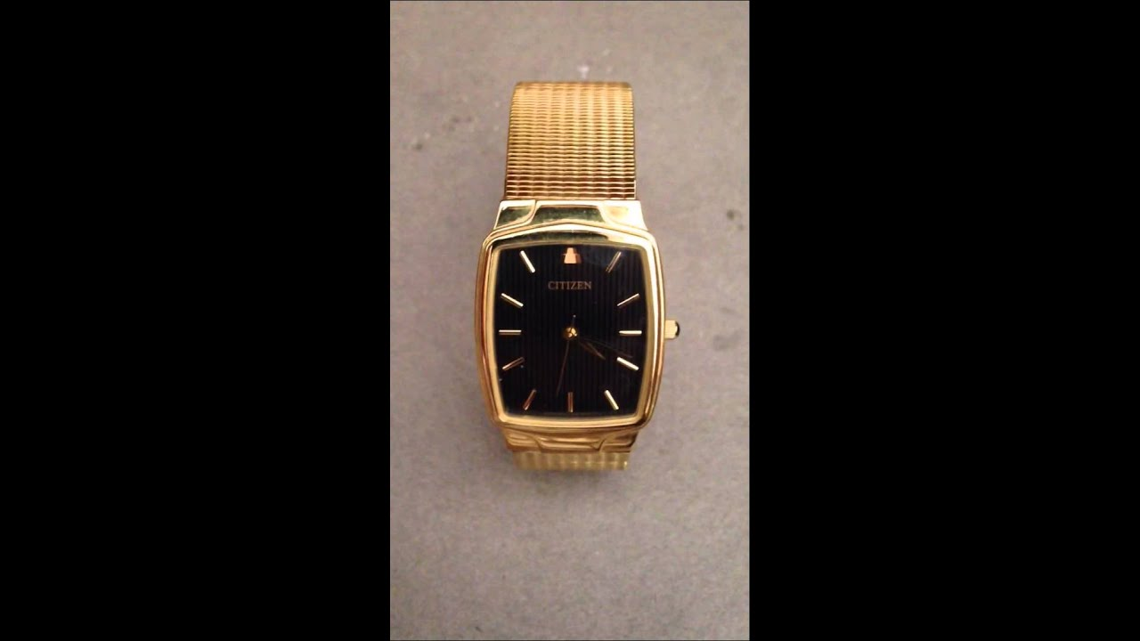 c3f40bcb7f157 Reloj Citizen Azteca Caballero - YouTube