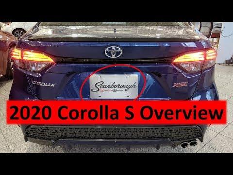 2020 Corolla SE Feature Overview // Price Comparison