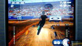 PS2 MX Superfly Featuring Ricky Carmichael 250cc Supercross Race