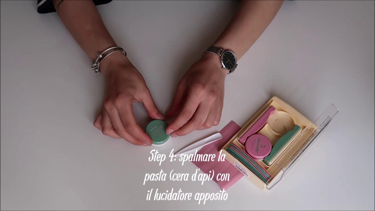 Mina Presenta La Manicure Giapponese Youtube
