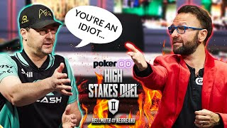 PHIL HELLMUTH Called Me an IDIOT for this...High Stakes Duel II Recap