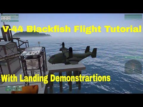 V-44 Blackfish VTOL Tutorial